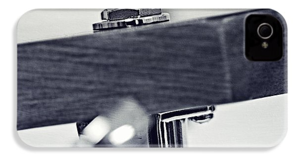 guitar V IPhone 4 Case by Priska Wettstein