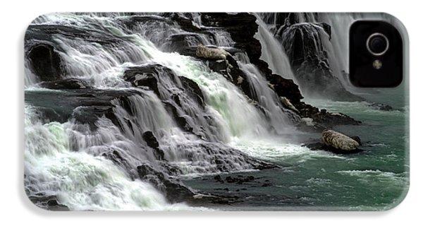Gullfoss Waterfalls, Iceland IPhone 4 Case