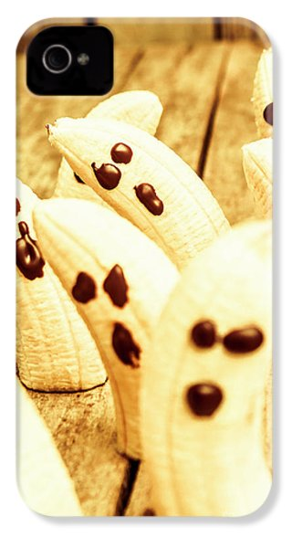 Halloween Banana Ghosts IPhone 4 Case