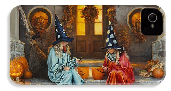 Halloween Sweetness IPhone 4 / 4s Case by Greg Olsen