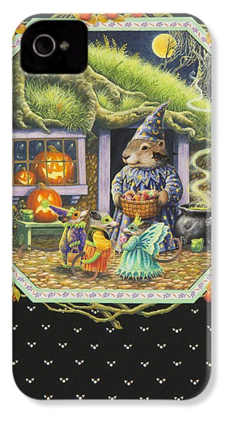 Halloween Treats IPhone 4 Case by Lynn Bywaters