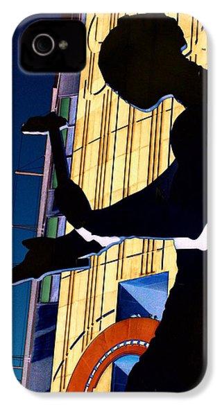 Hammering Man IPhone 4 Case by Tim Allen