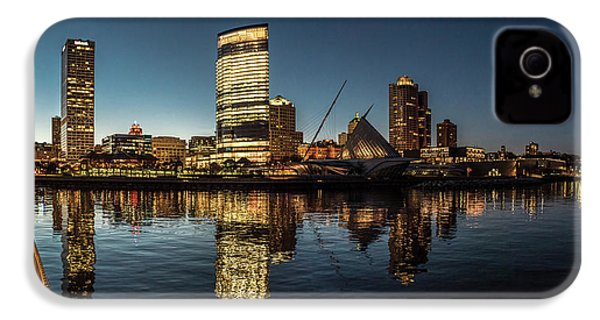 IPhone 4 Case featuring the photograph Harbor House View by Randy Scherkenbach