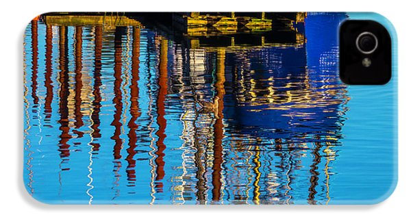 Harbor Reflections IPhone 4 Case by Garry Gay