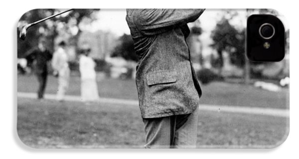 Harry Vardon - Golfer IPhone 4 / 4s Case by International  Images