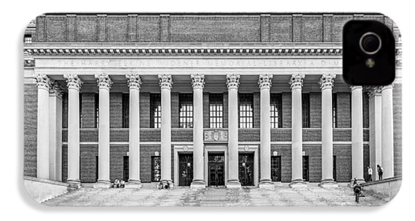 Widener Library At Harvard University IPhone 4 Case by University Icons