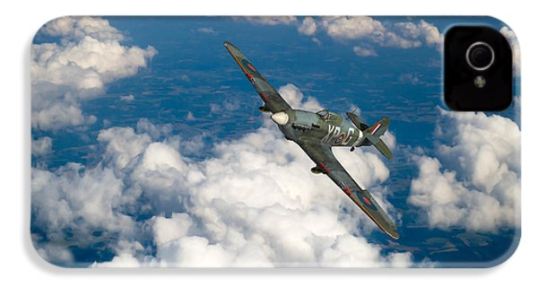 IPhone 4 Case featuring the photograph Hawker Hurricane IIb Of 174 Squadron by Gary Eason