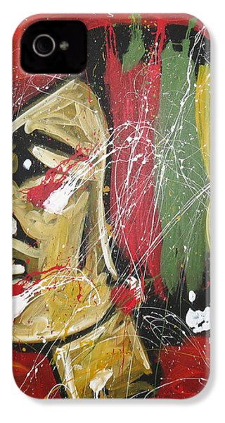Hawks IPhone 4 Case by Elliott From