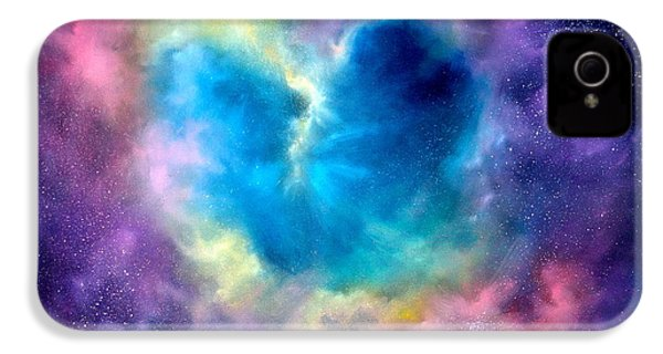 Heart Of The Universe IPhone 4 Case by Sally Seago
