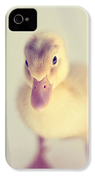 Hello Ducky IPhone 4 Case by Amy Tyler