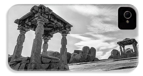 IPhone 4 Case featuring the photograph Hemakuta Hill, Hampi, 2017 by Hitendra SINKAR