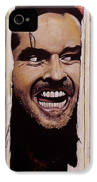 Here's Johnny IPhone 4 / 4s Case by Tom Carlton
