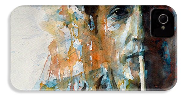Hey Mr Tambourine Man @ Full Composition IPhone 4 Case by Paul Lovering