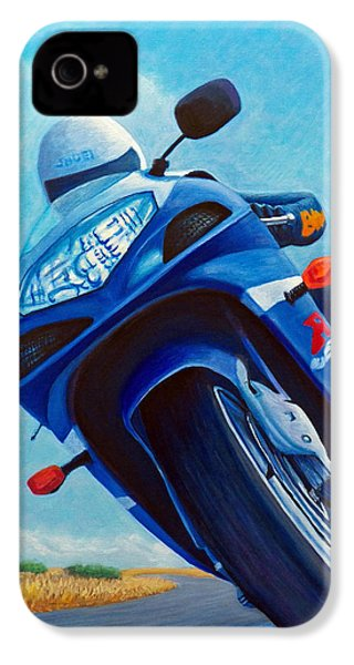 High Desert Pass - Suzuki Gsxr1000 IPhone 4 Case