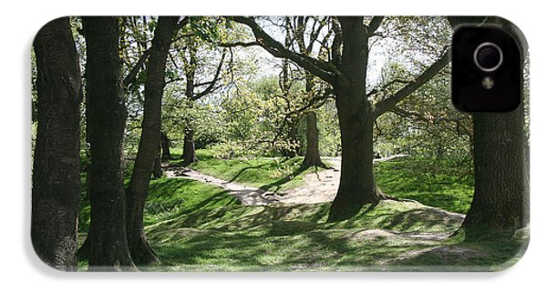 Hill 60 Cratered Landscape IPhone 4 Case
