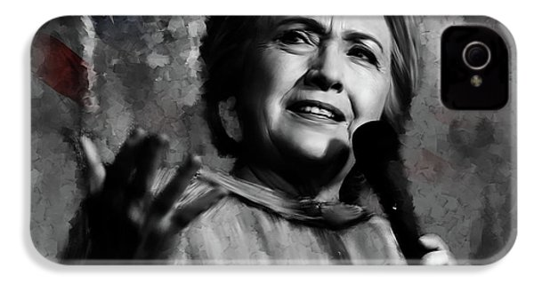Hillary Clinton  IPhone 4 Case by Gull G