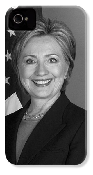 Hillary Clinton IPhone 4 Case by War Is Hell Store