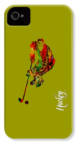 Hockey Collection IPhone 4 Case by Marvin Blaine