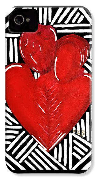 Hold Me IPhone 4 Case by Diamin Nicole