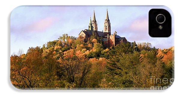 Holy Hill Basilica, National Shrine Of Mary IPhone 4 Case by Ricky L Jones