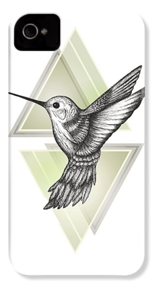 Hummingbird IPhone 4 / 4s Case by Barlena
