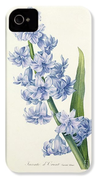 Hyacinth IPhone 4 / 4s Case by Pierre Joseph Redoute