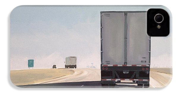 I-55 North 9am IPhone 4 Case by Jeffrey Bess