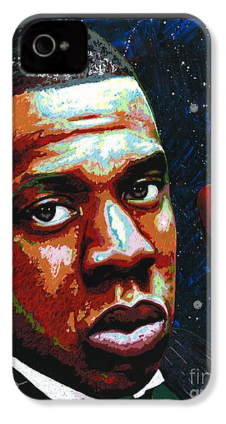 I Am Jay Z IPhone 4 Case by Maria Arango