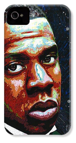 I Am Jay Z IPhone 4 Case by Maria Arango