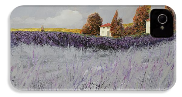 I Campi Di Lavanda IPhone 4 Case by Guido Borelli