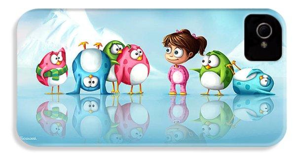 Im A Penguin Too IPhone 4 Case by Tooshtoosh