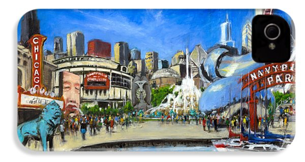 Impressions Of Chicago IPhone 4 Case by Robert Reeves