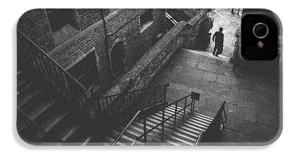 In Pursuit Of The Devil On The Stairs IPhone 4 / 4s Case by Joseph Westrupp