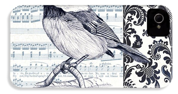 Indigo Vintage Songbird 2 IPhone 4 Case
