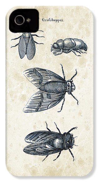 Insects - 1792 - 07 IPhone 4 Case by Aged Pixel