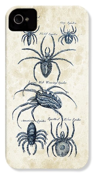 Insects - 1792 - 18 IPhone 4 Case by Aged Pixel