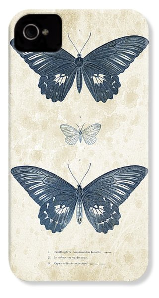 Insects - 1832 - 01 IPhone 4 Case by Aged Pixel