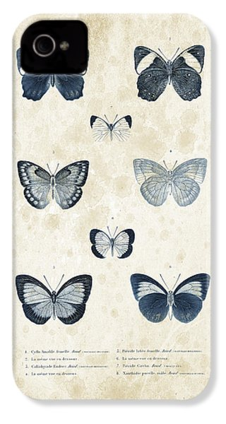 Insects - 1832 - 02 IPhone 4 Case by Aged Pixel