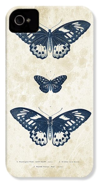 Insects - 1832 - 04 IPhone 4 Case by Aged Pixel