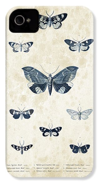 Insects - 1832 - 05 IPhone 4 Case by Aged Pixel