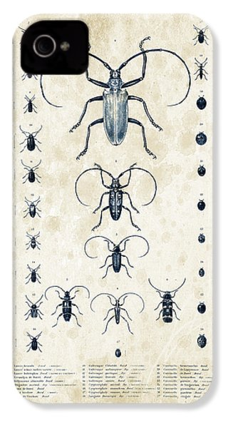 Insects - 1832 - 08 IPhone 4 Case by Aged Pixel