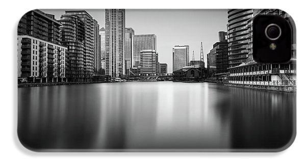 Inside Canary Wharf IPhone 4 Case by Ivo Kerssemakers