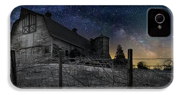 IPhone 4 Case featuring the photograph Interstellar Farm by Bill Wakeley