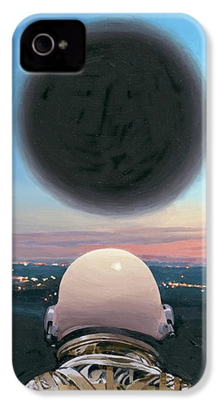 Into The Void IPhone 4 Case by Scott Listfield