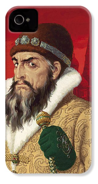 Ivan The Terrible IPhone 4 Case by English School