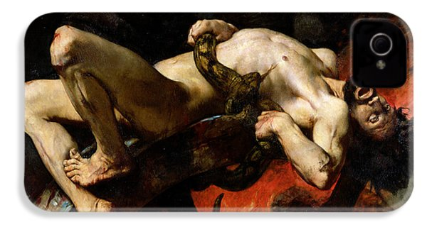Ixion Thrown Into Hades IPhone 4 / 4s Case by Jules Elie Delaunay