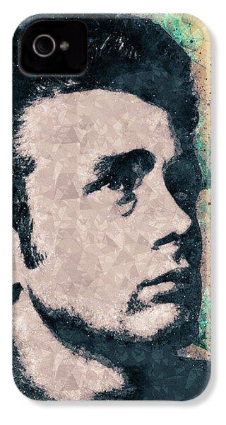 James Dean Portrait IPhone 4 Case