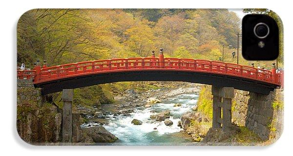 Japanese Bridge IPhone 4 Case by Sebastian Musial
