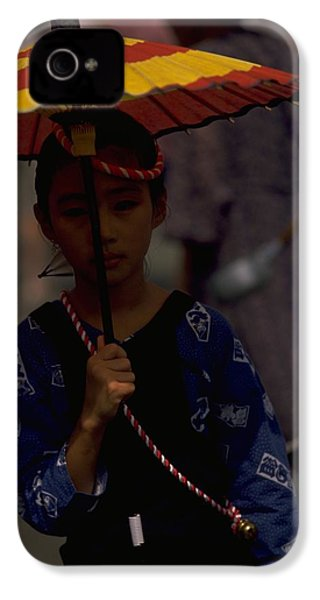 IPhone 4 / 4s Case featuring the photograph Japanese Girl by Travel Pics