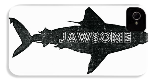 Jawsome IPhone 4 / 4s Case by Michelle Calkins
